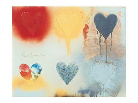 Small Heart Painting No. 21 by Jim Dine